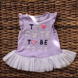 NWOT First Impressions baby dress